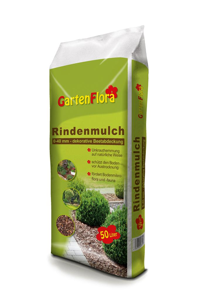 GartenFlora Rindenmulch 50 Liter