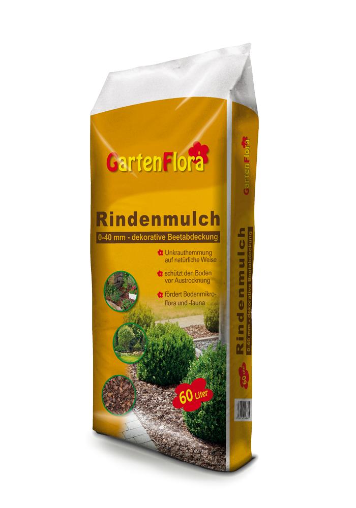 GartenFlora Rindenmulch 60 Liter