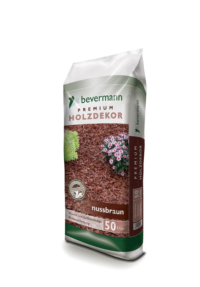 Bevermann Premium Holzdekor – nussbraun