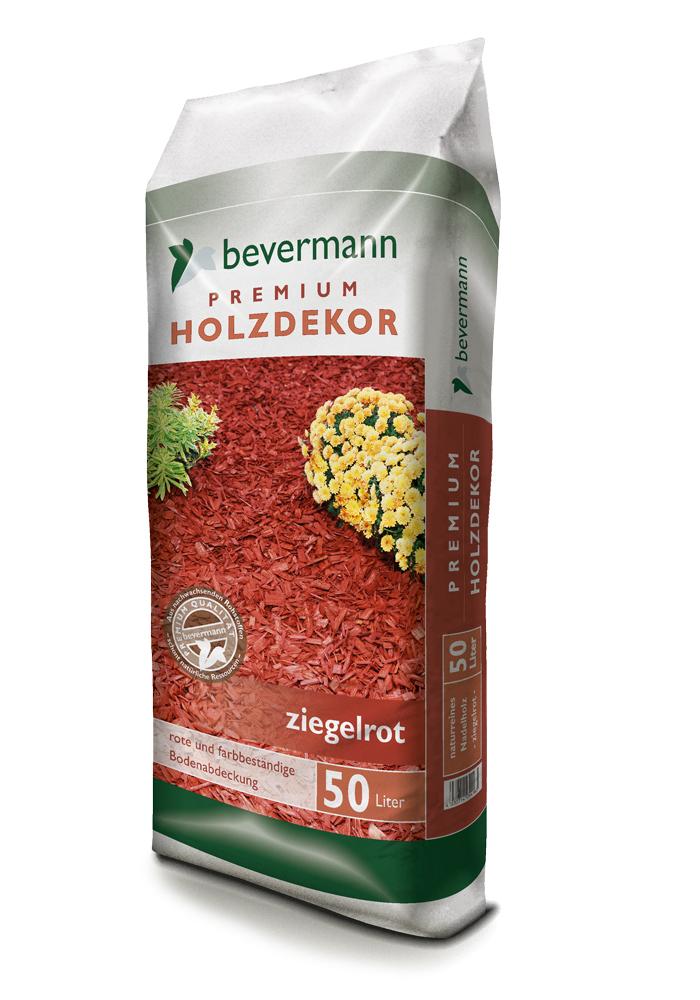 Bevermann Premium Holzdekor – ziegelrot