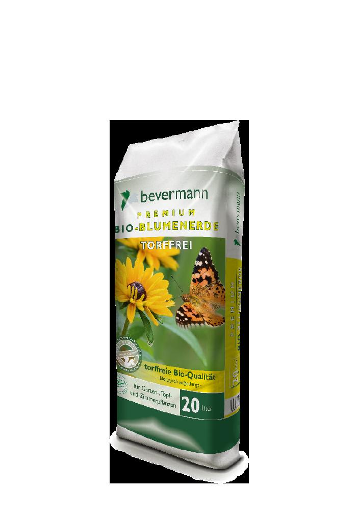 Bevermann Premium Bio-Blumenerde – torffrei