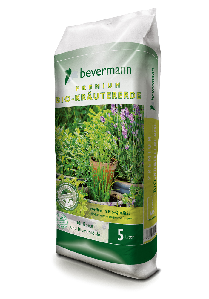 Bevermann Premium Bio-Kräutererde