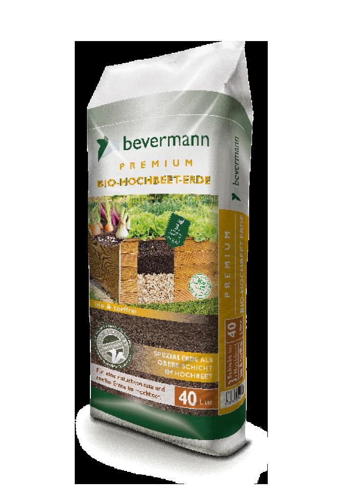 Bevermann Premium Hochbeet Erde Bio Grünstempel