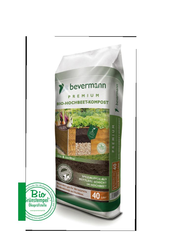 Bevermann Premium Bio-Hochbeet-Kompost