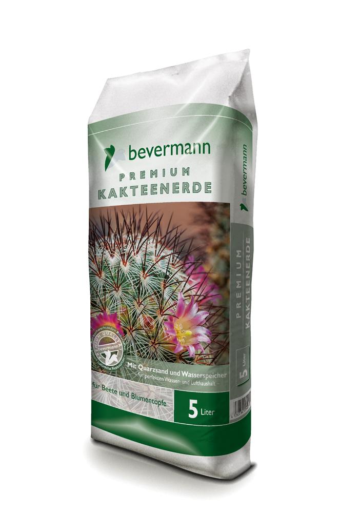 Bevermann Premium Kakteenerde mit Quarzsand