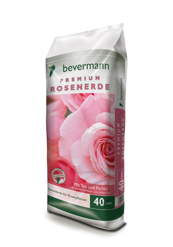 Bevermann Premium Spezialerde für Rosen