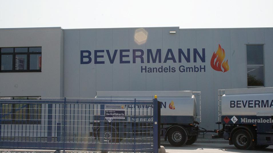Bevermann Handel Lager und Produkte