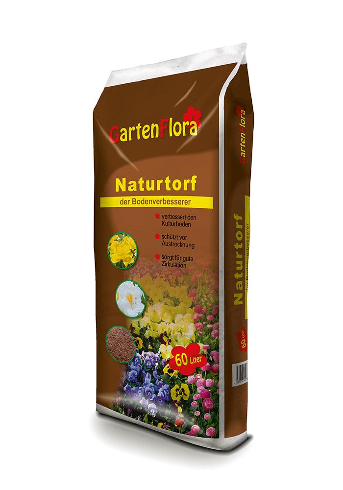GartenFlora Naturtorf - der Bodenverbesserer