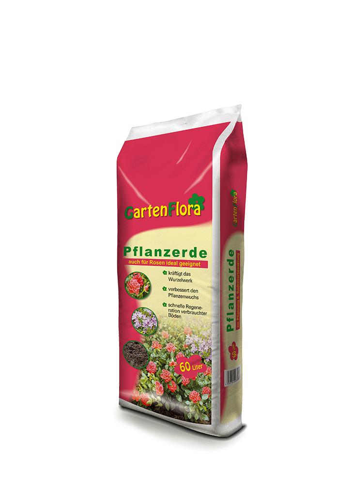 GartenFlora-Pflanzerde