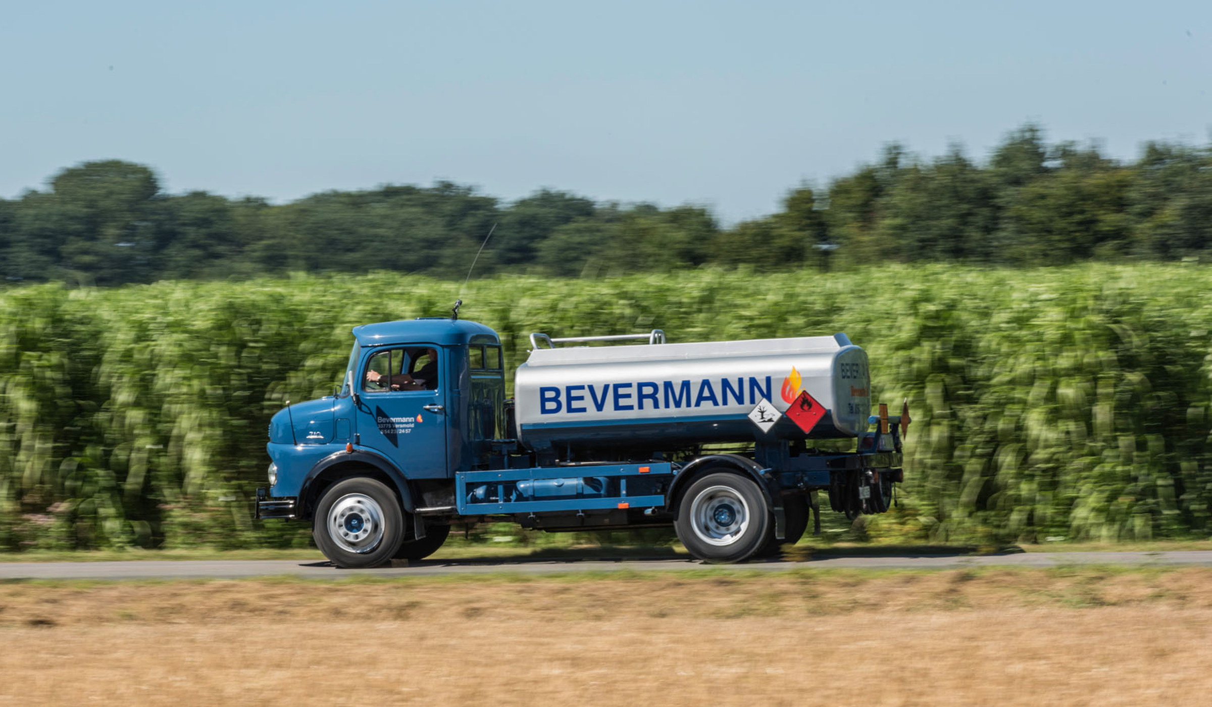 Bevermann Handel historischer Tankwagen